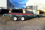 FLAT BED TRAILER 13 X 8