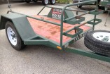 7 X 4 FLAT BED TRAILER