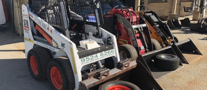 Bobcats,Excavators & dingo's